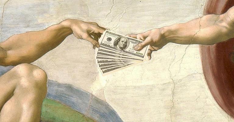 il ruolo della banca e alchimia denaro